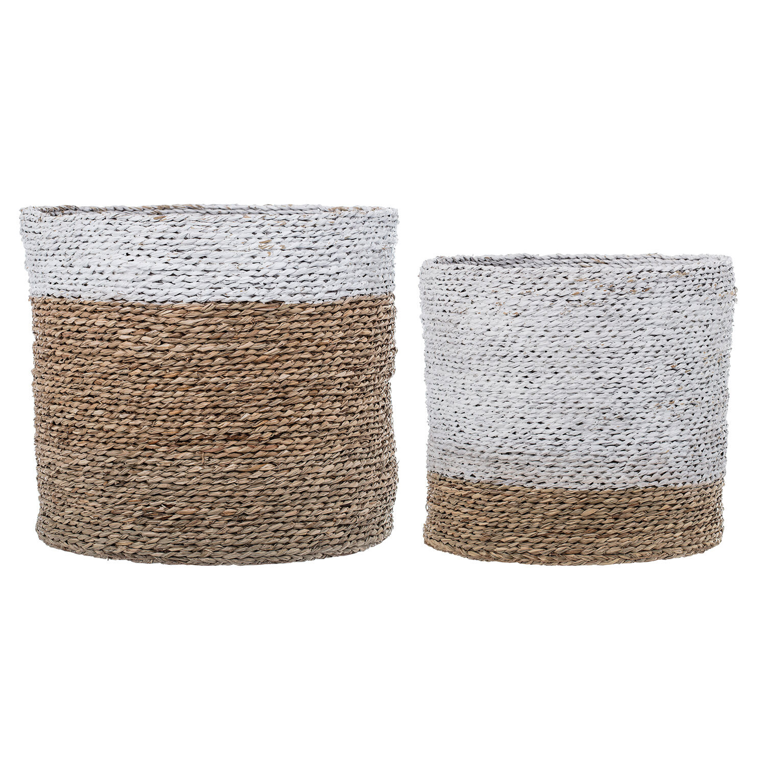 Trent Austin Design Natural Seagrass Wicker 2 Piece Basket Set ...