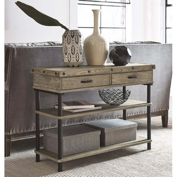 Yesenia Console Table by 17 Stories
