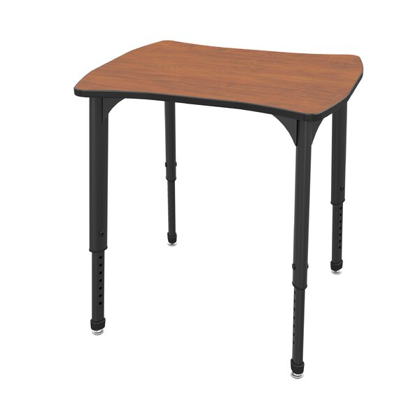Apex Series Manufactured Wood Adjustable Height Collaborative Desk by Marco Group Inc.