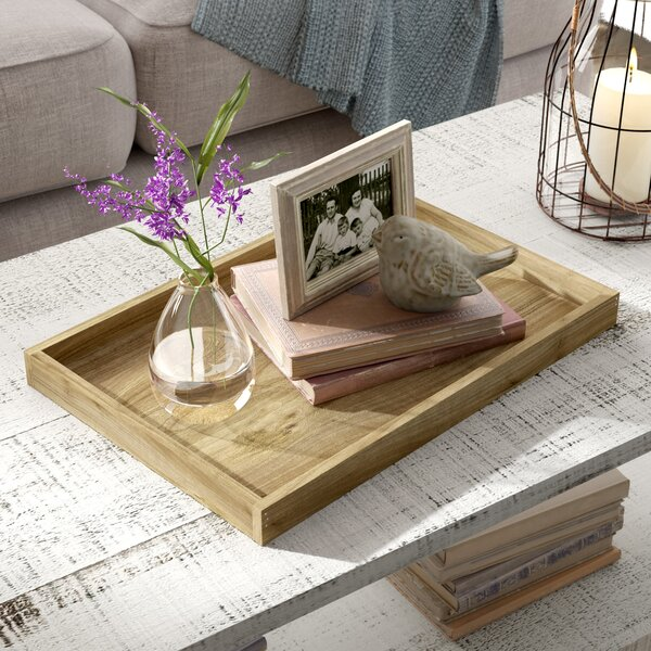 Rustic Wood Tray by Front Of The House