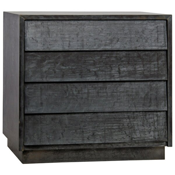 Come As You Are 4 Drawer Bachelors Chest By Noir by Noir New