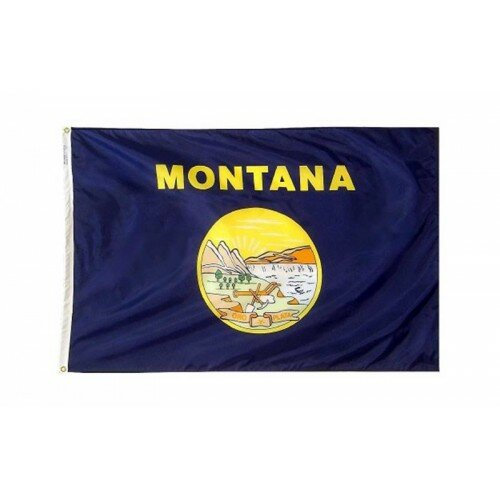 Montana Glo Traditional Flag by NeoPlex