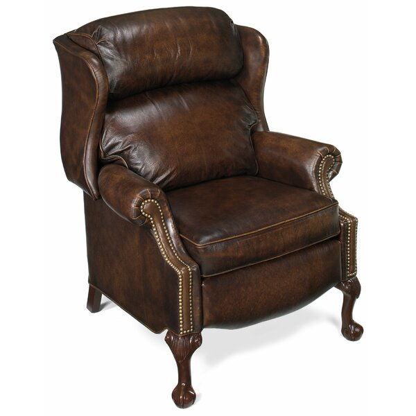 Maxwell Leather Manual Recliner By Bradington-Young