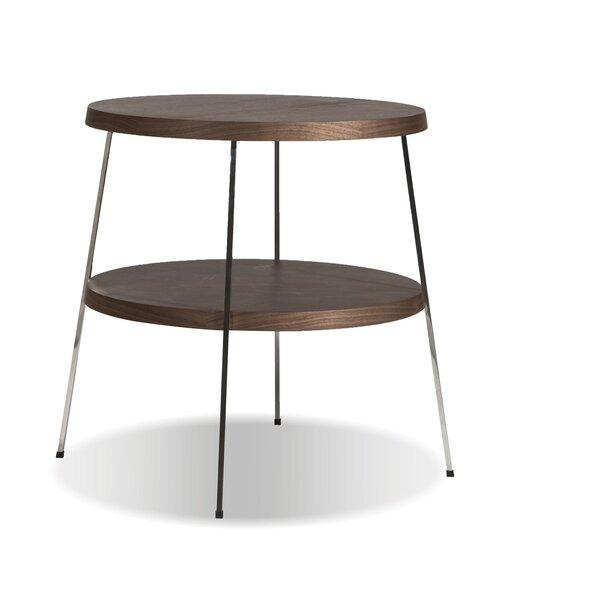 Shreya End Table by Wrought Studio