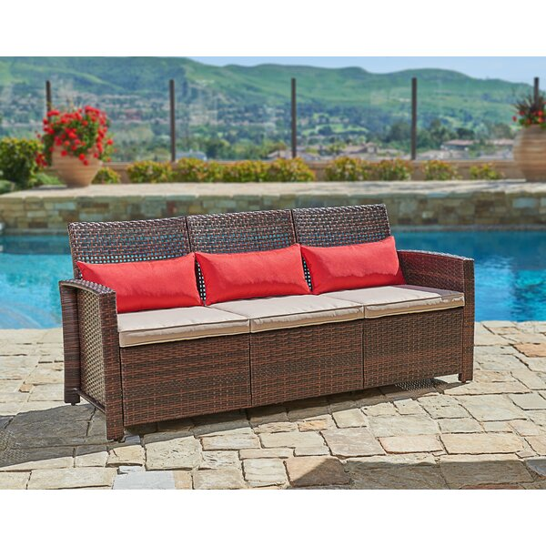 Burgess 3 Piece Sofa Seating Group with Cushions by Longshore Tides