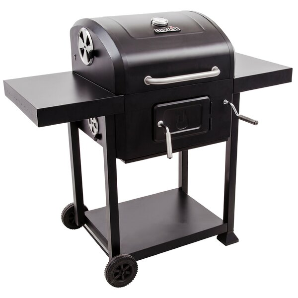 Charcoal Grill 580 with Side Shelves by Char-Broil