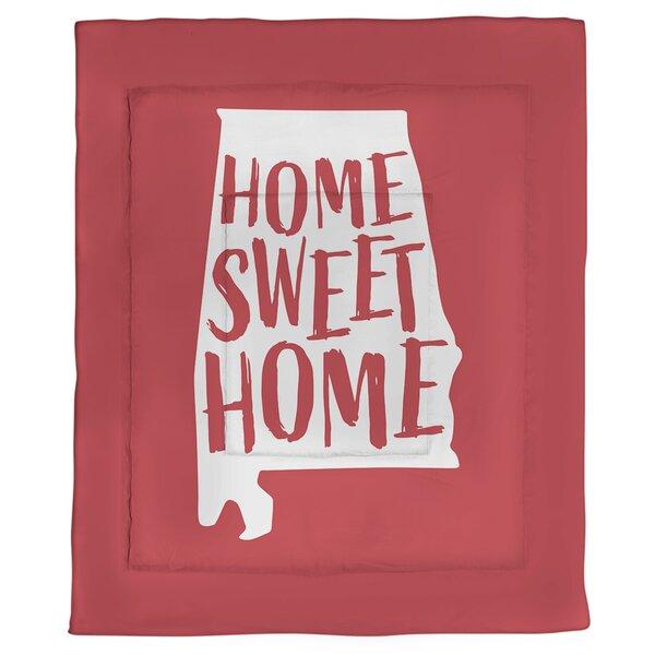 Alabama Home Sweet Single Reversible Comforter