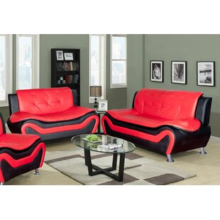 Faux Leather Living Room Sets You\'ll Love