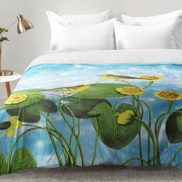 Walker Love Chirp On Water Lilies Comforter Set