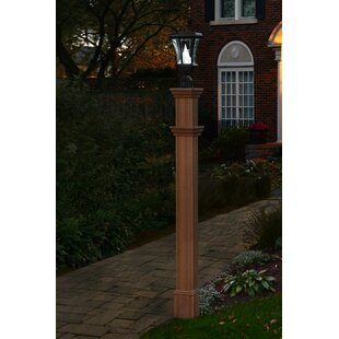 Outdoor Light Post With Outlet Outdoor lamp post with outlet wayfair charleston 74 post workwithnaturefo