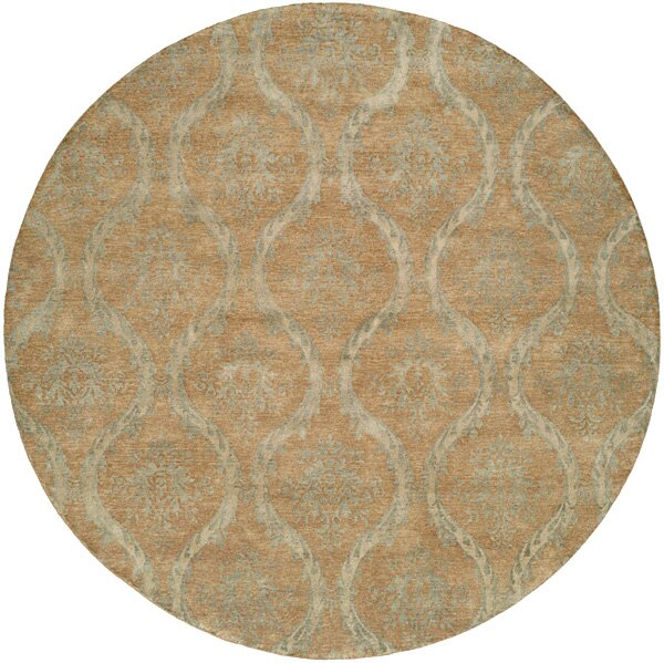 Nicaragua Hand-Knotted Brown/Blue Area Rug