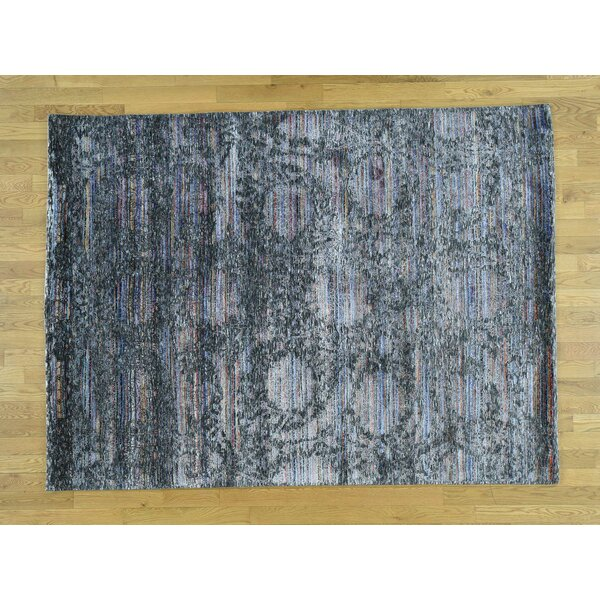 One-of-a-Kind Becker Plush Handwoven Wool/Silk Area Rug by Isabelline