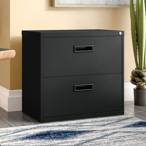 Walt 2 Drawer Lateral Filing Cabinet by Wade Logan
