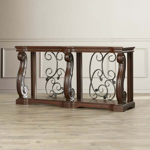 Steelville Console Table by Fleur De Lis Living