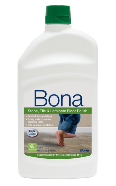Stone, Tile and Laminate Floor Polish - 32 oz by Bona Kemi