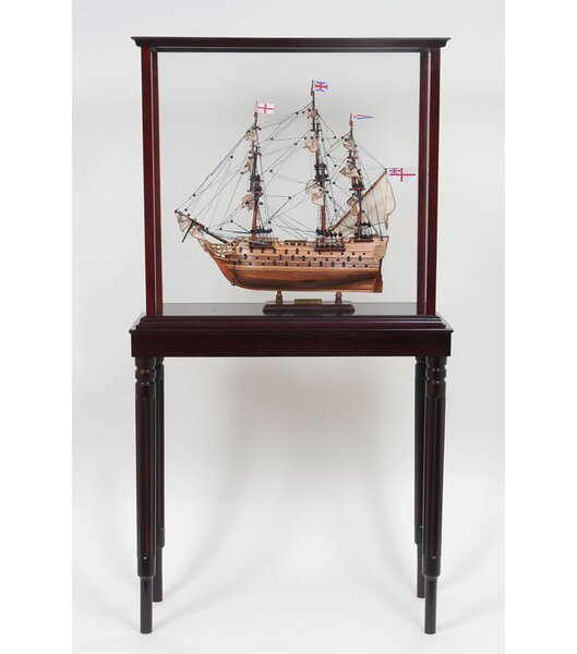 Tall Ship Display Case by Old Modern Handicrafts