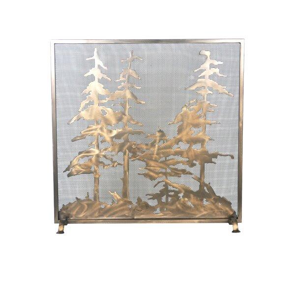Tall Single Panel Fireplace Screen By Meyda Tiffany