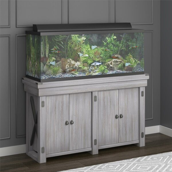 Ester 55 Gallon Aquarium Stand By Archie Oscar.