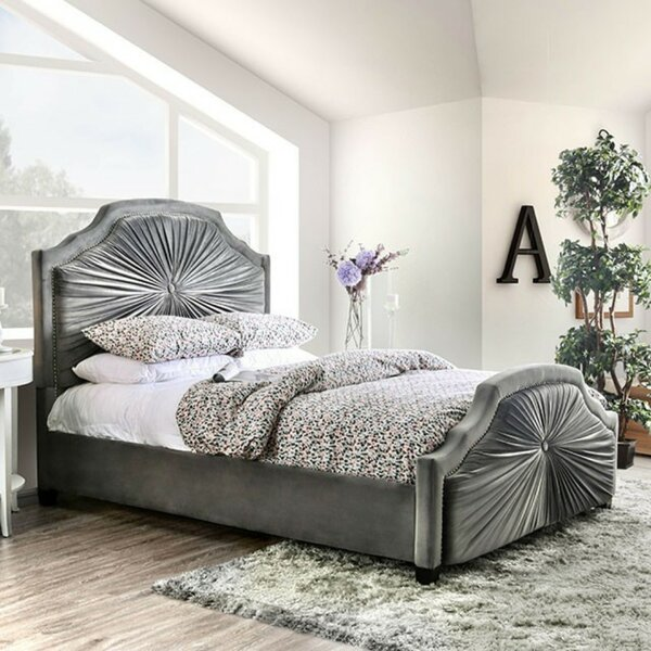 Lynell Upholstered Standard Bed by House of Hampton