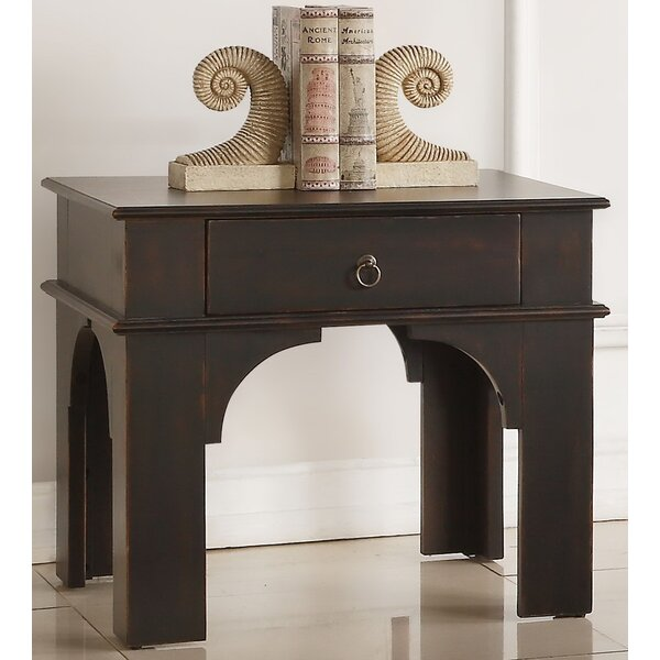 Karol End Table with Storage by Andrew Home Studio