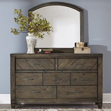 7 Drawer Dresser with Mirror by Liberty Furniture