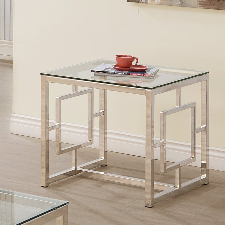 House of hampton cummings end table reviews wayfair for Table 52 reviews