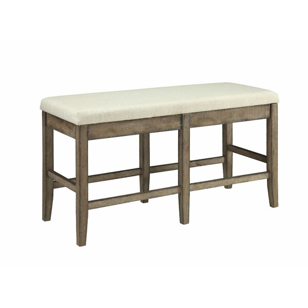 Rosy Upholstered Bench by Gracie Oaks