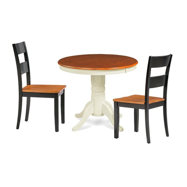 Cayton 3 Piece Breakfast Nook Dining Set by Highland Dunes