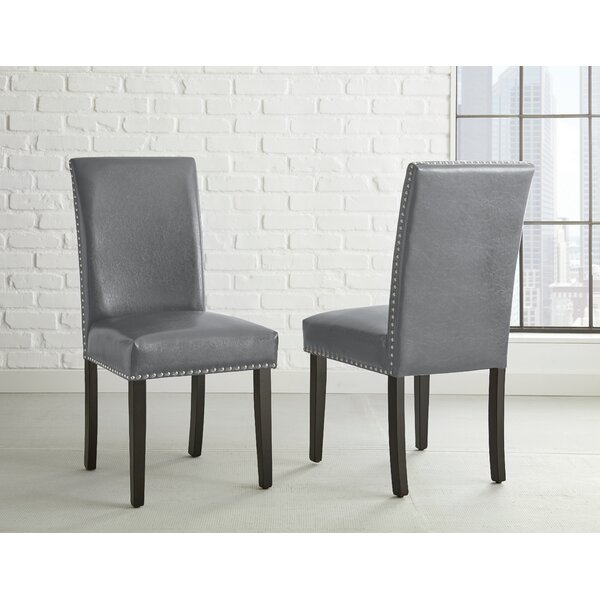 Cotter Upholstered Dining Chair (Set Of 2) By Wrought Studio 2019 Coupon