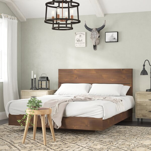 Franklin Platform Bed by Modern Rustic Interiors
