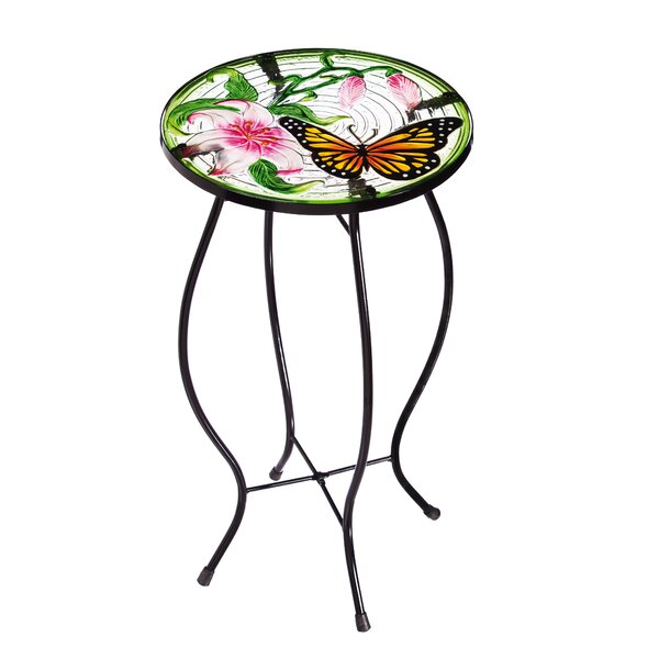 Gabor Butterfly Side Table by Bloomsbury Market