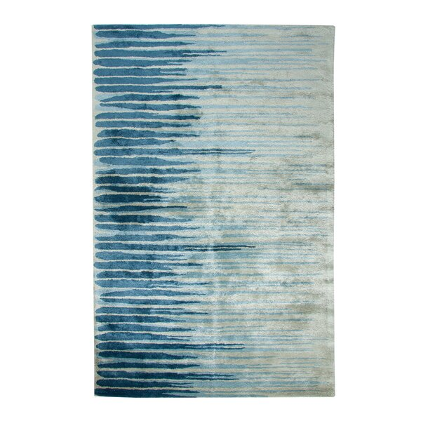 Vogue Hand-Woven Wool Blue/Gray Area Rug by Dynamic Rugs