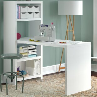 Echo Wood Sewing Table by Kathy Ireland Office Bush
