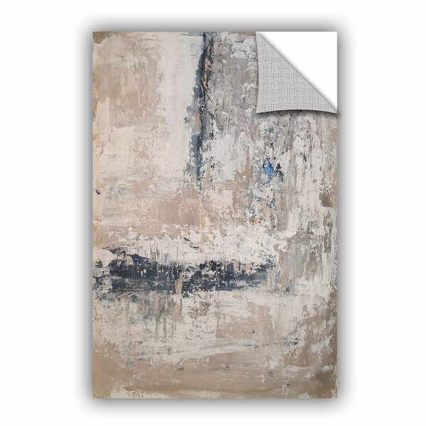 Attina Stone Abstract I Wall Decal by Wade Logan