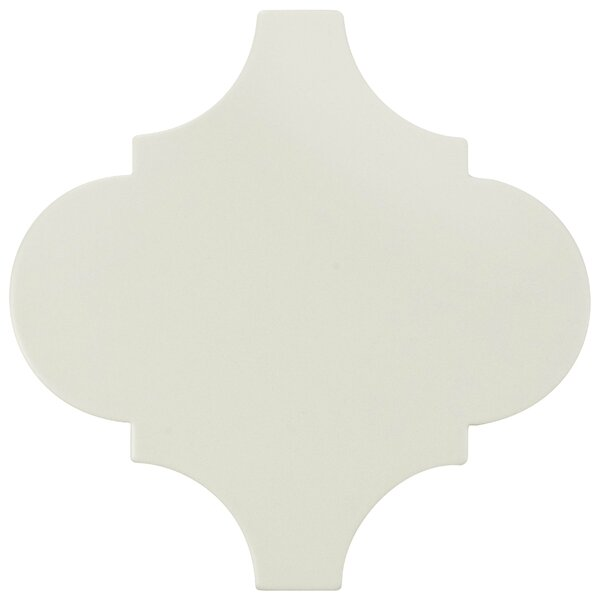 Beacon 8 x 8 Porcelain Mosaic Tile in White by EliteTile
