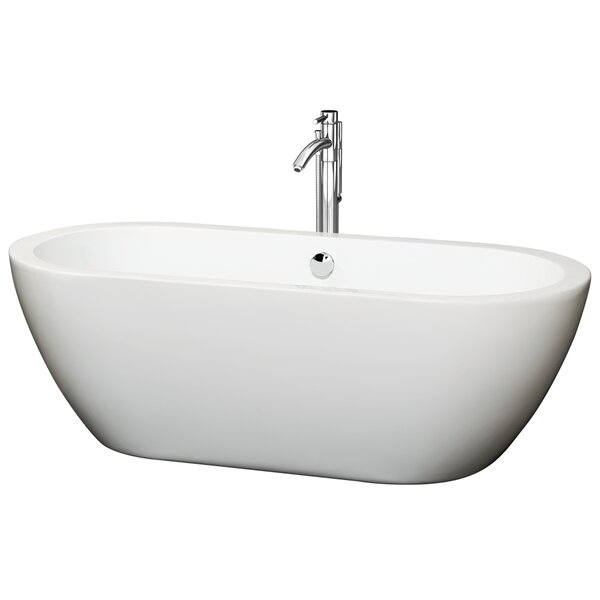 Soho 68 x 30.5 Soaking Bathtub by Wyndham Collection