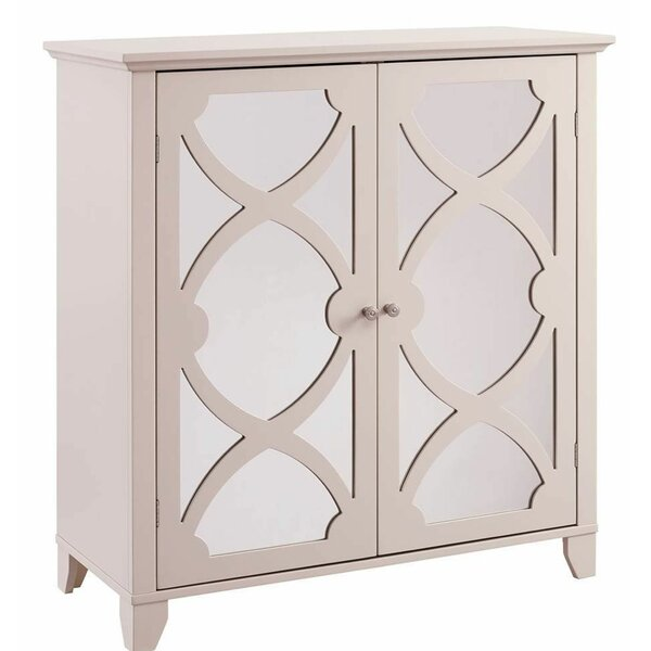 Brookhn 2 Door Mirrored Accent Cabinet by House of Hampton House of Hampton