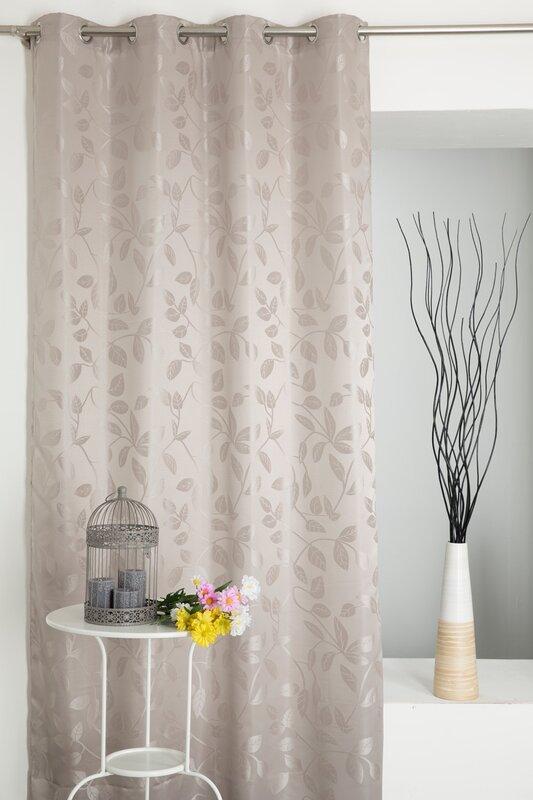 castleton home einzel vorhang blickdicht bewertungen. Black Bedroom Furniture Sets. Home Design Ideas