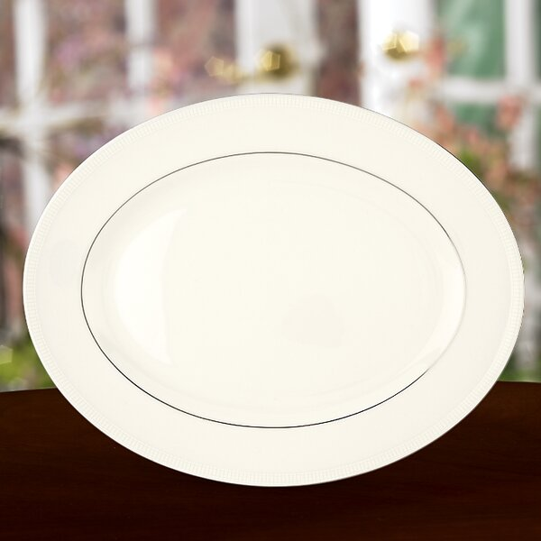 Tribeca Oval Platter by Lenox