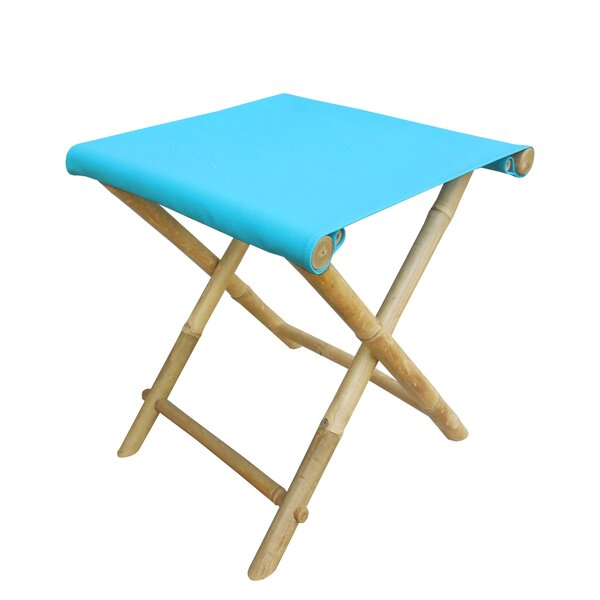 Bamboo Indoor / Outdoor Folding Stool by ZEW Inc