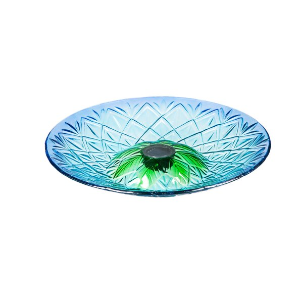 Solar Birdbath by Evergreen Flag & Garden