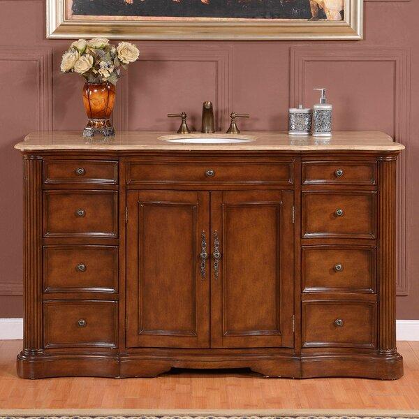 60 Sink Cabinet Bathroom Vanity Set by Astoria Grand