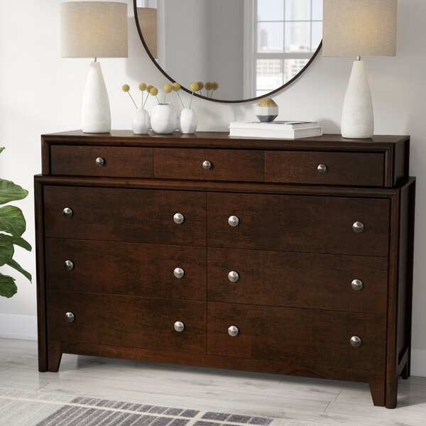 Elton 9 Drawer Standard Dresser/Chest by Brayden Studio