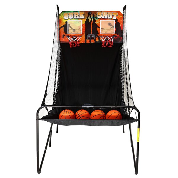 Sure Shot Dual Electronic Basketball Game by Hathaway GamesSure Shot Dual Electronic Basketball Game by Hathaway Games