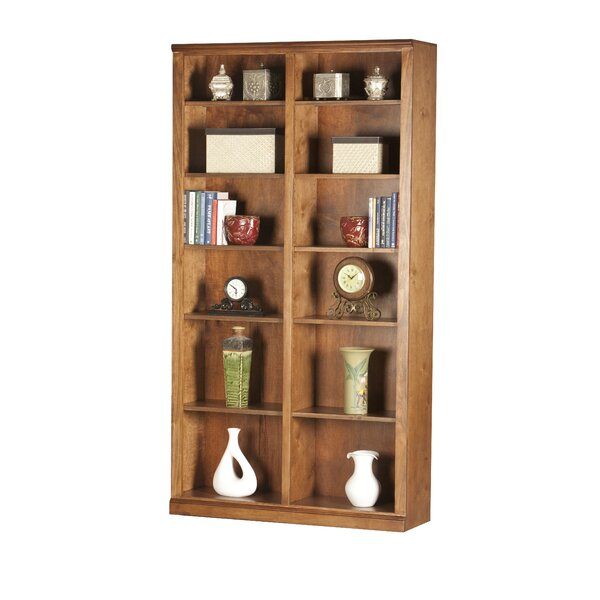 Didier Double Wide Standard Bookcase by World Menagerie