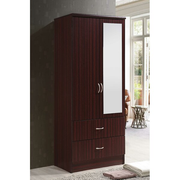 Guernsey 2 Door Armoire By Ebern Designs by Ebern Designs 2020 Sale