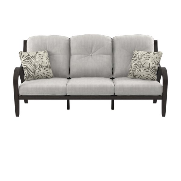 Kohn Patio Sofa with Cushions by Bayou Breeze