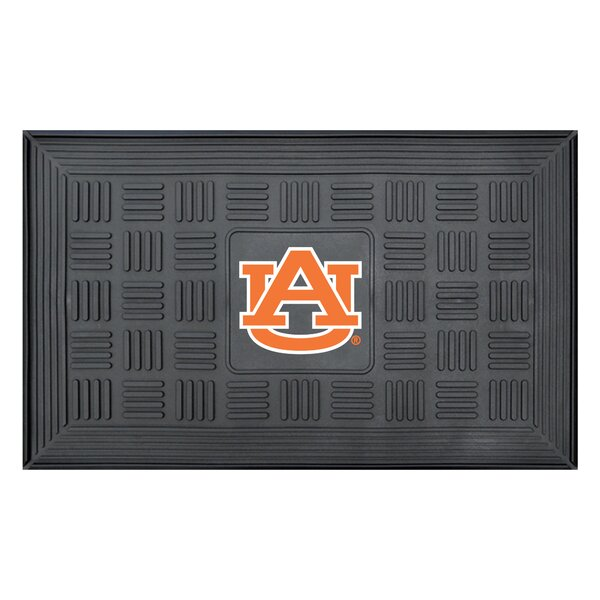 NCAA Auburn University Medallion Door Mat by FANMATS
