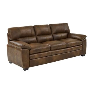 Albritton Leather Sofa by Red Barrel Studio SKU:CB885457 Description