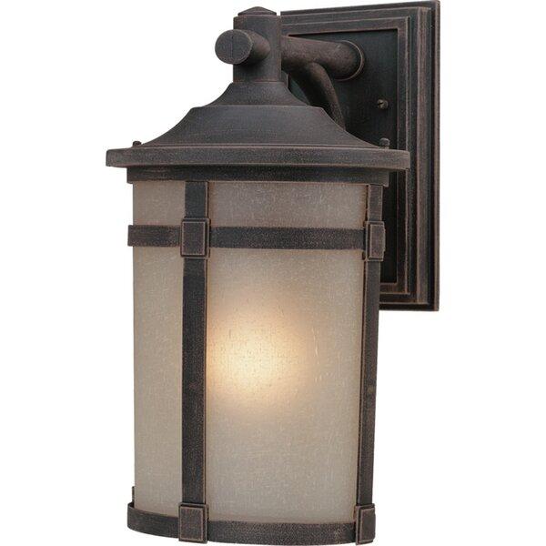 Russell 1-Light Outdoor Wall Lantern by Latitude Run